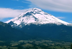 メキシコ富士とも言われる?ポポ山